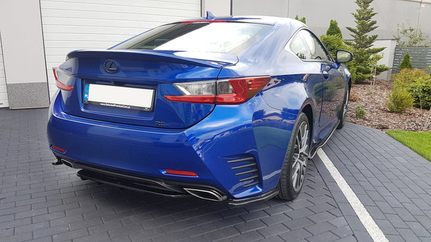 REAR SIDE SPLITTERS LEXUS RC