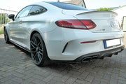 REAR SIDE SPLITTERS MERCEDES C-CLASS C205 63AMG COUPE