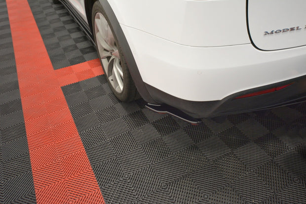 REAR SIDE SPLITTERS V.2 TESLA MODEL X