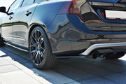 REAR SIDE SPLITTERS VOLVO V60 POLESTAR FACELIFT