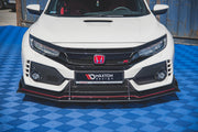 RACING DURABILITY FRONT SPLITTER HONDA CIVIC X TYPE-R