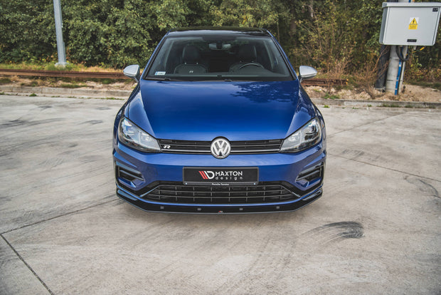 RACING DURABILITY FRONT SPLITTER VW GOLF 7 R FACELIFT