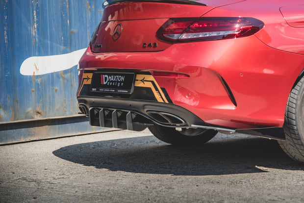 RACING DURABILITY REAR DIFFUSER MERCEDES-AMG C43 COUPE C205