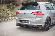 RACING DURABILITY REAR DIFFUSER V.1 VW GOLF 7 GTI