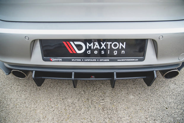 RACING DURABILITY REAR DIFFUSER V.2 VW GOLF 7 GTI