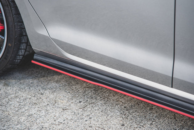 RACING DURABILITY SIDE SKIRTS DIFFUSERS VW GOLF 7 GTI
