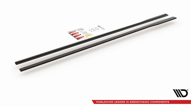 RACING DURABILITY SIDE SKIRTS DIFFUSERS VW GOLF 7 R FACELIFT