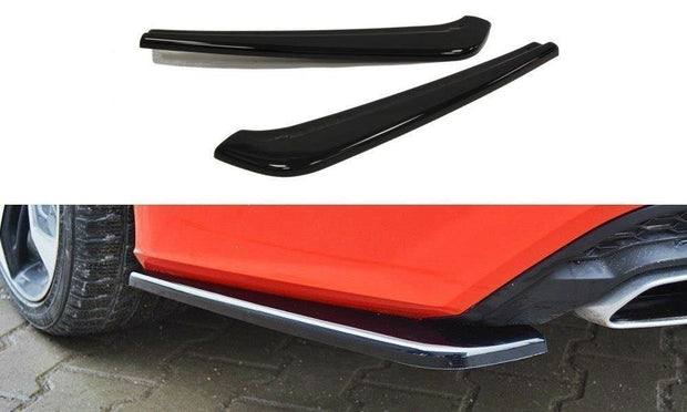 REAR SIDE SPLITTERS AUDI A7 S-LINE C7 FL