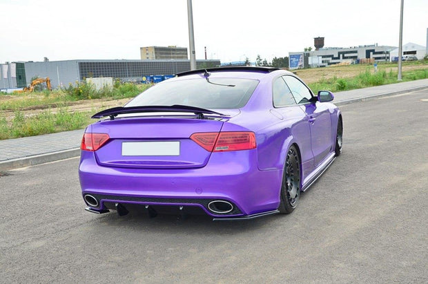 REAR SIDE SPLITTERS AUDI RS5 8T / 8T FL