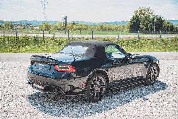 REAR SIDE SPLITTERS FIAT 124 SPIDER ABARTH