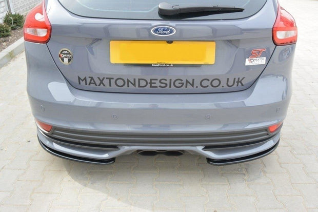 REAR SIDE SPLITTERS FORD FOCUS ST MK3 FL