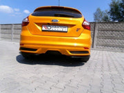 REAR SIDE SPLITTERS FORD FOCUS ST MK3 HATCHBACK