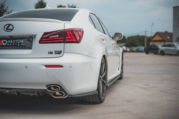 REAR SIDE SPLITTERS LEXUS IS F MK2