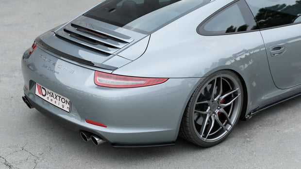 REAR SIDE SPLITTERS PORSCHE 911 CARRERA 991