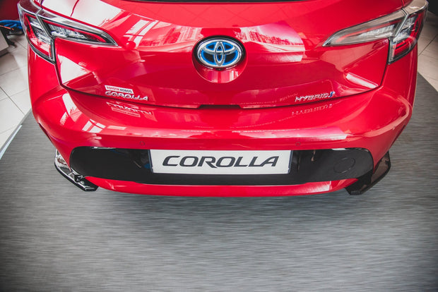 REAR SIDE SPLITTERS TOYOTA COROLLA XII HATCHBACK