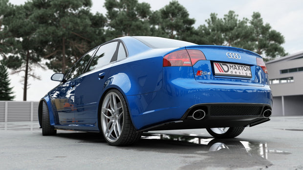 REAR SIDE SPLITTERS AUDI RS4 B7