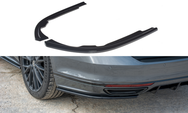 REAR SIDE SPLITTERS VOLKSWAGEN PASSAT R-LINE B8