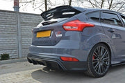 REAR VALANCE FORD FOCUS ST MK3 FL (RS-LOOK)