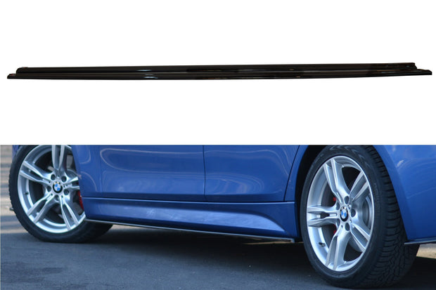 SIDE SKIRTS DIFFUSERS BMW 3-SERIES F30 PHASE-II SEDAN M-SPORT