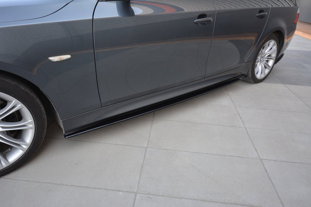 SIDE SKIRTS DIFFUSERS BMW 5 E60/61 M-PACK