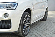 SIDE SKIRTS DIFFUSERS BMW X4 M-PACK