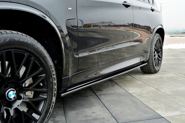 SIDE SKIRTS DIFFUSERS BMW X5 F15 M50D