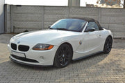 SIDE SKIRTS DIFFUSERS BMW Z4 E85 / E86 (PREFACE)