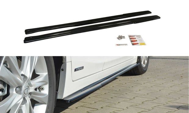 SIDE SKIRTS DIFFUSERS LEXUS CT MK1 FACELIFT