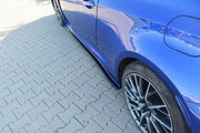 SIDE SKIRTS DIFFUSERS LEXUS RC F
