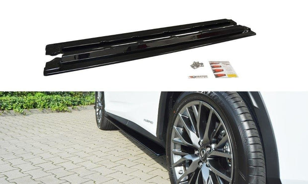 SIDE SKIRTS DIFFUSERS LEXUS RX MK4