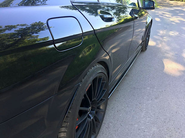 SIDE SKIRTS DIFFUSERS MERCEDES-BENZ AMG C63 W204 FACELIFT