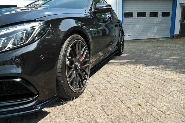 SIDE SKIRTS DIFFUSERS MERCEDES C-CLASS S205 63AMG ESTATE/LIMUSINE