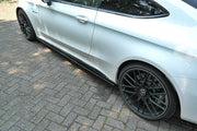 SIDE SKIRTS DIFFUSERS MERCEDES C-CLASS C205 63AMG COUPE