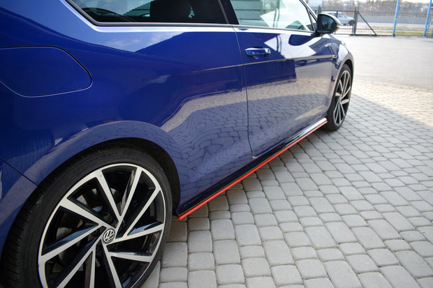 SIDE SKIRTS DIFFUSERS V.2 VW GOLF 7 R FACELIFT