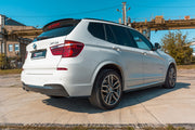 SPOILER EXTENSION BMW X3 F25 M-PACK FACELIFT