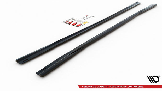 SIDE SKIRTS DIFFUSERS AUD A6 S-LINE / S6 C8