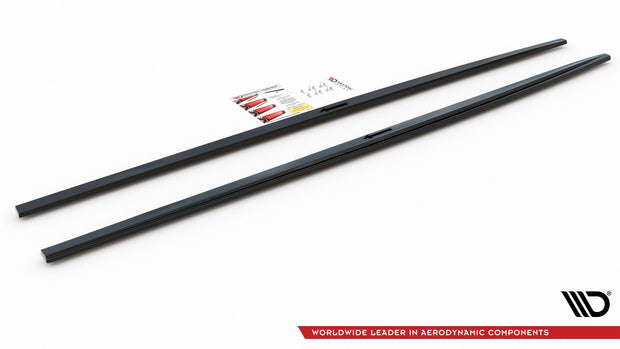 SIDE SKIRTS DIFFUSERS AUDI A7 C8 S-LINE