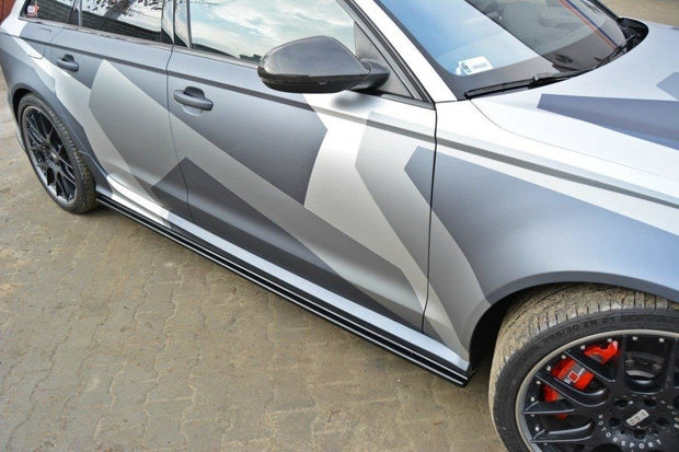 SIDE SKIRTS DIFFUSERS AUDI RS6 C7 / C7 FL
