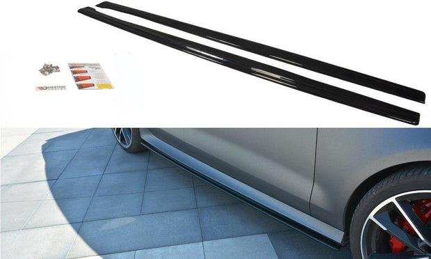 SIDE SKIRTS DIFFUSERS AUDI RS7 C7 FL