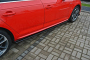 SIDE SKIRTS DIFFUSERS AUDI S4 / A4 S-LINE B9