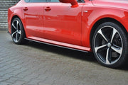 SIDE SKIRTS DIFFUSERS AUDI S7 / A7 S-LINE C7 FL