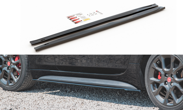 SIDE SKIRTS DIFFUSERS FIAT 124 SPIDER ABARTH