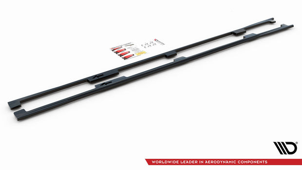 SIDE SKIRTS DIFFUSERS LEXUS LS LONG WHEELBASE MK4 FACELIFT