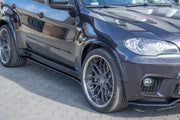 SIDE SKIRTS DIFFUSERS BMW X5 E70 FACELIFT M-PACK