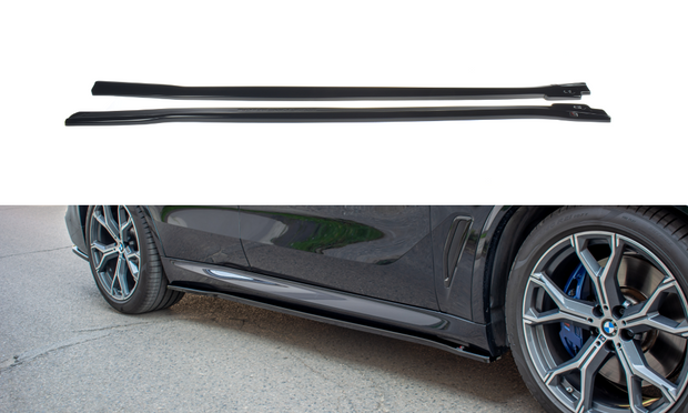 SIDE SKIRTS DIFFUSERS BMW X5 G05 M-PACK