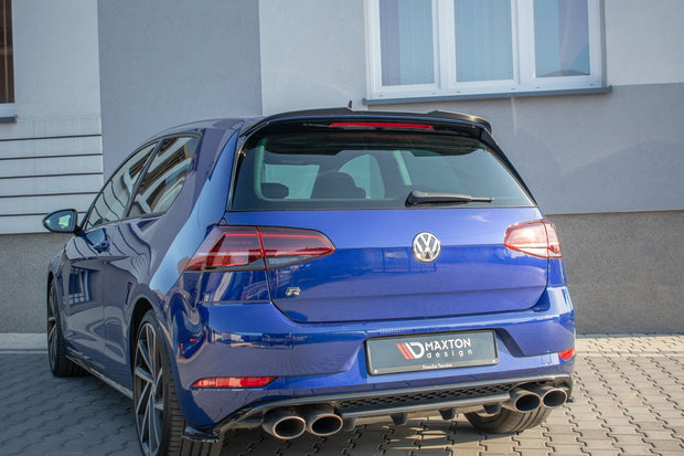 SPOILER EXTENSION V.2 VOLKSWAGEN GOLF 7 R/GTI FACELIFT