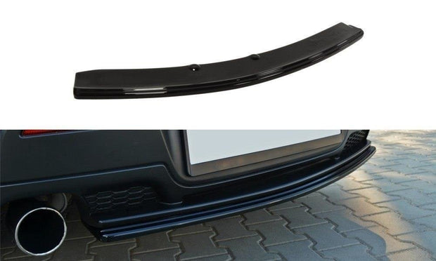 CENTRAL REAR SPLITTER MAZDA 3 MPS MK1 PREFACE (WITHOUT VERTICAL BARS)