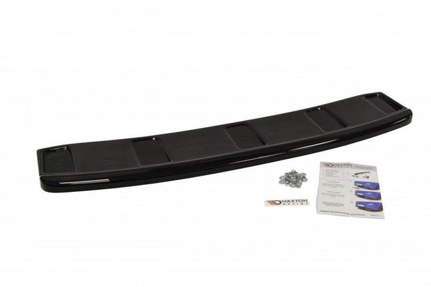 CENTRAL REAR SPLITTER AUDI A7 S-LINE C7 FL (WITHOUT VERTICAL BARS)