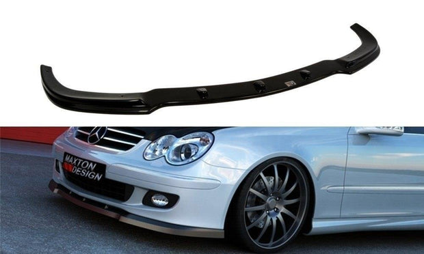FRONT SPLITTER MERCEDES CLK W209 FACELIFT MODEL FOR STANDARD VERSION