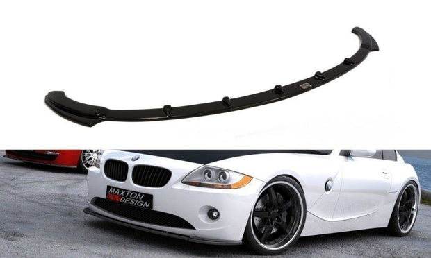 FRONT SPLITTER V.1 BMW Z4 E85 / E86 (PREFACE MODEL)